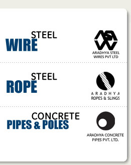 Company Name Your Toughest Requirements In Steel Wires Ropes Aradhya Can Meet Them With A Wide Variety Of Diameters Tensile Strengths